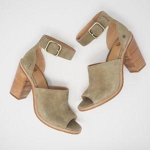 UGG Aja Ankle Strap Sandals Alp Size 7